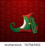 merry christmas greeting card   Shutterstock .eps vector #767065402