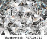 diamond texture closeup and...   Shutterstock . vector #767106712