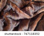 Texture. Mink Fur. Mink Coat. ...
