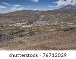 Small photo of Views of Putre. It is a Chilean town in the altiplano at an altitude of 3,500 m (11,438 ft)