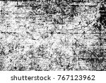 grunge black and white pattern. ... | Shutterstock . vector #767123962