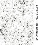 distressed overlay texture of... | Shutterstock .eps vector #767125195