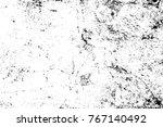 grunge black and white pattern. ... | Shutterstock . vector #767140492