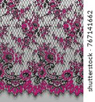 seamless vector black and pink... | Shutterstock .eps vector #767141662