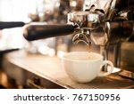 coffee extraction from... | Shutterstock . vector #767150956