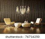 modern interior room with nice... | Shutterstock . vector #76716250