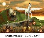 Beautiful Pegasus In An...
