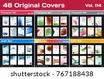 mega set of design of business...   Shutterstock .eps vector #767188438