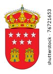 spanish province of community... | Shutterstock . vector #76721653