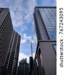 cityscape in hong kong | Shutterstock . vector #767243095