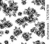 abstract elegance seamless... | Shutterstock .eps vector #767258788
