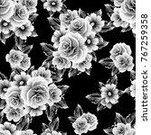 abstract elegance seamless... | Shutterstock . vector #767259358