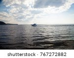 the day sea landscape is full... | Shutterstock . vector #767272882