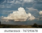a huge cloud | Shutterstock . vector #767293678