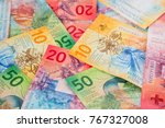 collection of the new swiss... | Shutterstock . vector #767327008
