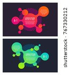 creative style banner design on ... | Shutterstock .eps vector #767330212