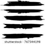 grunge paint stripe . vector...   Shutterstock .eps vector #767344198