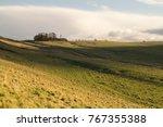 Small photo of The Vallum which runs alongside Hadrian's Wall
