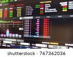 stock market  stock exchange... | Shutterstock . vector #767362036