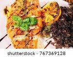 delicious restaurant food   Shutterstock . vector #767369128