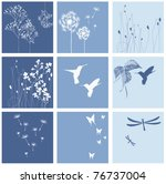 Set Of Nature Textures