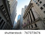 Financial District Of New York...