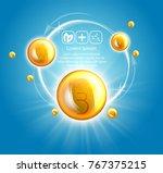 fish oil ads template  omega 3 .... | Shutterstock .eps vector #767375215