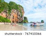 29 sep  krabi  thailand ... | Shutterstock . vector #767410366