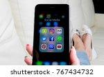 sankt petersburg  russia ... | Shutterstock . vector #767434732