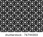 seamless ottoman wallpaper | Shutterstock .eps vector #76744303