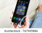 sankt petersburg  russia ...   Shutterstock . vector #767445886