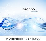 technology web background... | Shutterstock .eps vector #76746997