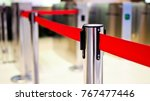 red tape portable barrier