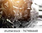 Car Engine Part  Concept Of...
