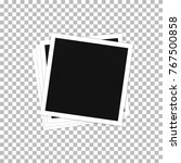pile of photos. photo frame... | Shutterstock .eps vector #767500858