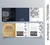brochure design  brochure... | Shutterstock .eps vector #767503486