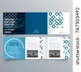 brochure design  brochure...   Shutterstock .eps vector #767503492
