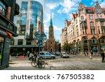 riga .latvia.7 september 2017.a ... | Shutterstock . vector #767505382