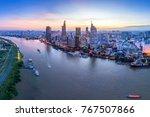 ho chi minh  vietnam dec 01... | Shutterstock . vector #767507866