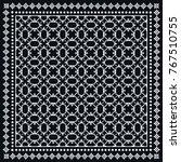 decorative geometric line... | Shutterstock .eps vector #767510755