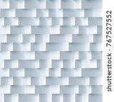 white gray three dimensional... | Shutterstock .eps vector #767527552