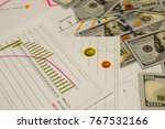 chart  image of income level.... | Shutterstock . vector #767532166