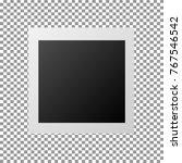 blank photo frames | Shutterstock .eps vector #767546542