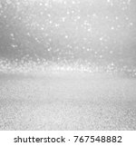 silver and white abstract... | Shutterstock . vector #767548882