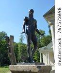 sculptures in oleksandriya... | Shutterstock . vector #767573698