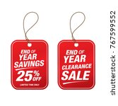 sale and special offer tag ... | Shutterstock .eps vector #767599552