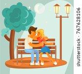 love concept design for... | Shutterstock .eps vector #767628106