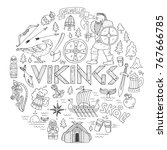 Vikings Handdrawn Conceptual...