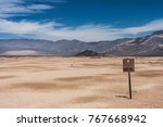 picture of north panamint ... | Shutterstock . vector #767668942