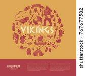 Vikings Brochure  Flayer Or...